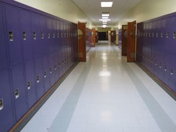 School Corridor Lockers Michigan