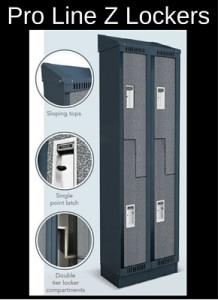 Michigan Industrial lockers